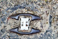Oude de wegreflector van het Kattenoog Stock Afbeelding