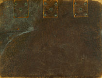 Oude dekking royalty-vrije stock foto's