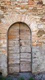 Oude deur stock foto