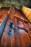 Oude deur Royalty-vrije Stock Afbeelding