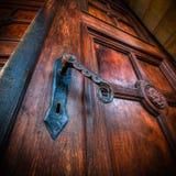 Oude deur royalty-vrije stock foto
