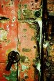 Oude deur Stock Foto's