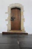 Oude deur stock fotografie