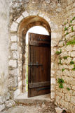 Oude deur Stock Afbeelding