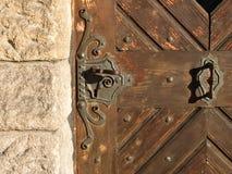 Oude deur Royalty-vrije Stock Foto's