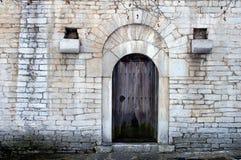 Oude deur royalty-vrije stock afbeeldingen