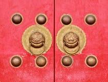 Oude deur Chinese antiquiteit stock foto
