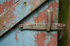 Oude deur II royalty-vrije stock fotografie
