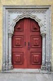 Oude deur. Penapaleis, Portugal Royalty-vrije Stock Fotografie