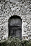 Oude deur in Roman Campagna Royalty-vrije Stock Afbeelding