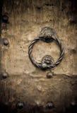 Oude deur, Rome, Italië Stock Foto's