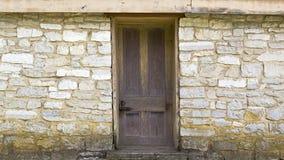 Oude deurachtergrond Royalty-vrije Stock Afbeelding