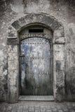 Oude deuren, Marokko Stock Foto