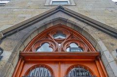 Oude deuren, Montreal, Canada Royalty-vrije Stock Foto's