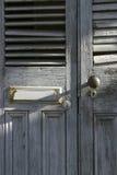 Oude deuren in New Orleans Stock Fotografie