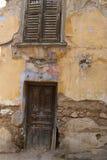 Oude deuren van Athene Stock Afbeeldingen