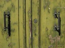 Oude deurhandvatten Royalty-vrije Stock Fotografie