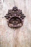 Oude deurkloppers Royalty-vrije Stock Afbeeldingen