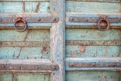 Oude deurkloppers Stock Fotografie