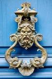 Oude deurkloppers Royalty-vrije Stock Afbeelding