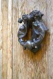 Oude deurkloppers Royalty-vrije Stock Foto