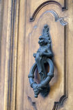 Oude deurkloppers Royalty-vrije Stock Fotografie