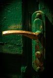 Oude Deurknop Royalty-vrije Stock Afbeelding