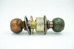 Oude Deurknoppen Stock Foto's