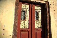 Oude deuropening Royalty-vrije Stock Foto