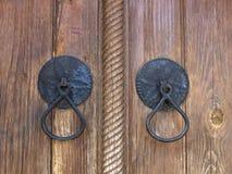 Oude deuropening Stock Fotografie