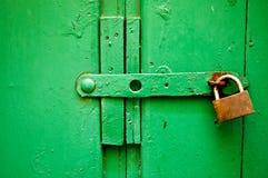 Oude deurtextuur Stock Fotografie