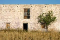 Oude die boerderij in Almeria wordt verlaten Stock Fotografie
