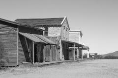 Oude die de Stadsfilm van Wilde Westennen in Arizona wordt geplaatst Stock Foto's