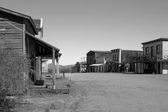 Oude die de Stadsfilm van Wilde Westennen in Arizona wordt geplaatst Royalty-vrije Stock Foto's