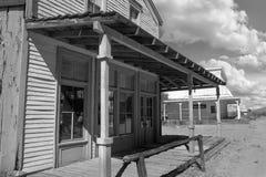 Oude die de Stadsfilm van Wilde Westennen in Arizona wordt geplaatst Royalty-vrije Stock Afbeeldingen