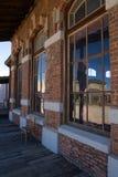 Oude die de Stadsfilm van Wilde Westennen in Mescal, Arizona wordt geplaatst Royalty-vrije Stock Foto's