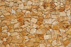 Oude die muur, van ruwe baksteen wordt gebouwd Stock Afbeelding
