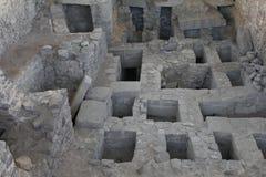 Oude ruïnes Wari Royalty-vrije Stock Afbeeldingen