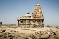 Oude die Tempel van steen wordt gemaakt royalty-vrije stock afbeelding
