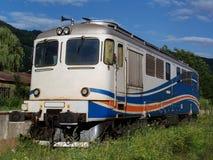 Oude diesel elektrische locomotief Royalty-vrije Stock Afbeeldingen