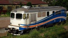 Oude diesel elektrische locomotief Royalty-vrije Stock Foto