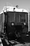 Oude diesel trein Royalty-vrije Stock Fotografie