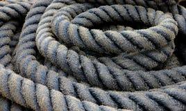 Oude dikke kabel Stock Afbeelding