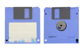 Oude diskette Stock Afbeelding