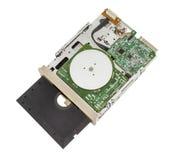 Oude disketteaandrijving Royalty-vrije Stock Afbeeldingen