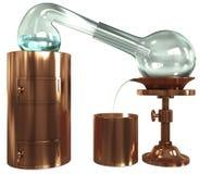 Oude distillatie royalty-vrije illustratie