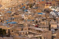 Oude Distric van Akre Aqrah Koerdistan van Irak Stock Foto