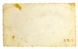 Oude document achtergrond Stock Fotografie