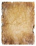 Oude document achtergrond met ruimte voor tekst Stock Foto