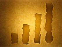 Oude document achtergrond - voorraadgrafiek Stock Fotografie